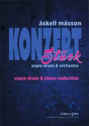 Masson , Askell - Konzertstuck for Snare Drum & Orchestra (ピアノ伴奏版 / スコア・パート譜あり)