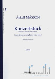 Masson , Askell - Konzertstuck for Snare Drum & Orchestra (吹奏楽伴奏版 / スコアのみ)