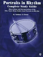 Cirone , Anthony J. - Portraits in Rhythm (Complete Study Guide) (特価品)