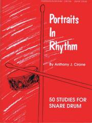 Cirone , Anthony J. - Portraits in Rhythm 50 Studies for Snere Drum (特価品)