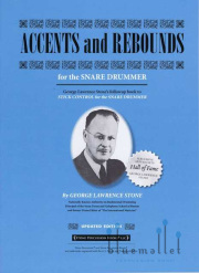 Stone , George Lawrence - Accents and Rebounds for the Snare Drummer (特価品)