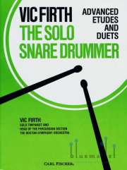 Firth , Vic - The Solo Snare Drummer Advanced Etudes and Duets (特価品)