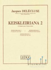 Delecluse , Jacques - Keiskleiriana II 12 Etudes pour Caisse-claire (特価品)