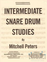 Peters , Mitchell - Intermediate Snare Drum Studies