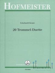 Keune , Eckehardt - 20 Trommel-Duette