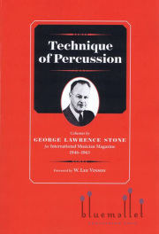 Stone , George Lawrence - Technique of Percussion (特価品)