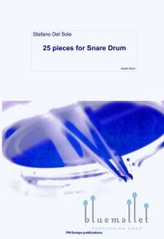 Del Sole , Stefano - 25 Pieces for Snare Drum