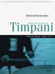 Hochrainer , Richard - Etuden fur Timpani Heft 2