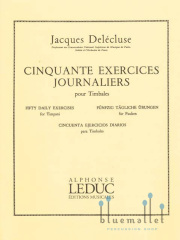 Delecluse , Jacques - 50 Exercices Journaliers (特価品)