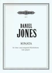 Daniel , Jones - Sonata for 3 unaccompanied Kettledrums