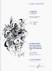 Macarez , Frederic - 7 Pieces pour 4 et 5 timbales