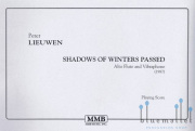 Lieuwen , Peter - Shadows of Winters Passed  Alto Flute and Vibraphone (スコアのみ2部セット)
