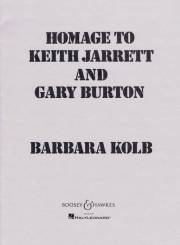 Kolb , Barbara - Homage to Keith Jarrett and Gary Burton (スコアのみ)