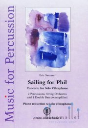 Sammut , Eric - Sailing for Phil Concerto for Solo Vibraphone (スコア・パート譜セット)