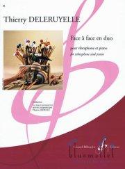 Deleruyelle , Thierry - Face a Face en Duo pour Vibraphone et Piano (スコア・パート譜セット)