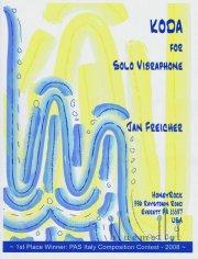 Freicher , Jan - Koda for Solo Vibraphone (特価品)