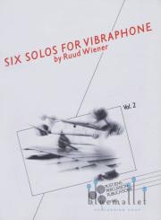 Wiener , Ruul - Six Solos for Vibraphone Vol.2 (特価品)