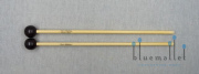 Devi Mallets Xylophone Mallet Series Ebony 28M / 345mm (ラタン柄)