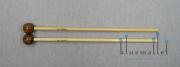 Devi Mallets Xylophone Mallet Series Bocote 28M / 345mm (ラタン柄)