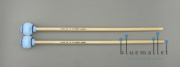 Vic Firth Mallet Terry Gibbs Blue VIC-M31 (ラタン柄) (かため) (特価品)