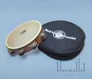 """Black Swamp Tambourine 10"""" Double Row Chromium TD1"""