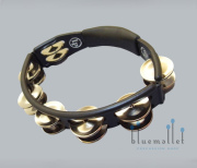 LP Tambourine Steel Jingle LP150 Black