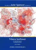 Spencer , Julie Arlene - Tribeca Sunflower for Marimba Quartet including Percussion (スコアのみ) (特価品)