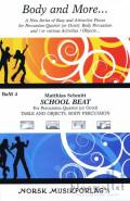 Schmitt , Matthias - School Beat (スコア・パート譜セット)