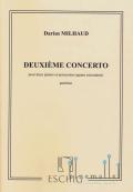 Milhaud , Darius - Deuxieme Concerto (スコアのみ)