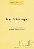 Sejourne , Emmanuel - Bourree Fantasque Duo pour 2 marimbas et vibraphone (スコア・パート譜セット)