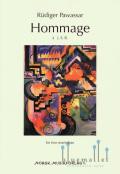 Pawassar , Rudiger - Hommage a J.S.B. for Two Marimbas (スコア・パート譜セット)