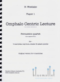 Westlake , Nigel - Omphalo Centric Lecture (パート譜のみ) (特価品)