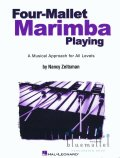 Zeltsman , Nancy - Four-Mallet Marimba Playing (特価品)