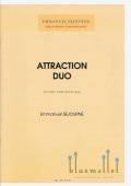 Sejourne , Emmanuel - Attraction Duo (伴奏CD付 / スコア・パート譜セット)