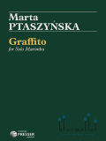 Ptaszynska , Marta - Graffito  for Solo Marimba (特価品)