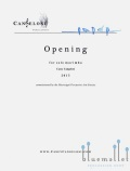 Cangelosi , Casey - Opening for Solo Marimba