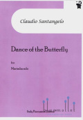 Santangelo , Claudio - Dance of the Butterfly for Marimba Solo