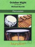 Burritt , Michael - October Night for Solo Marimba