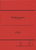 Cheung , Pius - Prelude in g minor for Solo Marimba