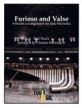 Hatch , Earl - Furioso and Valse 4-Mallet arrangement for Solo Marimba arr. by Claudio Santangelo