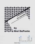 De Ponte , Niel - Concertino for Marimba (ピアノ伴奏版 / スコア・パート譜セット) (特価品)