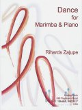 Zalupe , Rihards - Dance for Marimba & Piano (スコア・パート譜セット) (特価品)