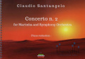 Santangelo , Claudio - Concerto No.2 for Marimba and Symphony Orchestra (ピアノ伴奏版/スコア・パート譜セット)