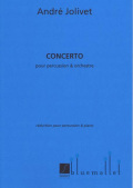 Jolivet , Andre - Concerto  pour Percussion et Orchestre  (Piano Reduction) (特価品)