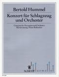 Hummel , Bertold - Konzert fur Schlagzeug und Orchester (ピアノ伴奏版 / スコア・パート譜セット) (特価品)