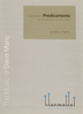 Maric , Dave - Predicaments for Solo Percussion and Piano (スコア・パート譜セット) (特価品)