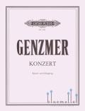 Genzmer , Harald - Konzert fur Klavier und Schlagzeug (スコア・パート譜セット)