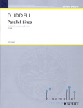 Duddell , Joe - Parallel Lines (ピアノ伴奏版/スコア・パート譜セット)