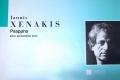 Xenakis , Iannis - Psappha pour Percussion  Solo (特価品)