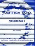 Taira , Yoshihisa - Monodrame I  pour Percussion (特価品)